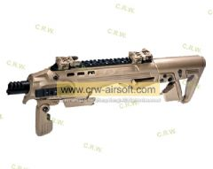 CAA Airsoft Division RONI Conversion Kit For Tokyo Marui / KSC / WE 17,18c,19,23F - DE